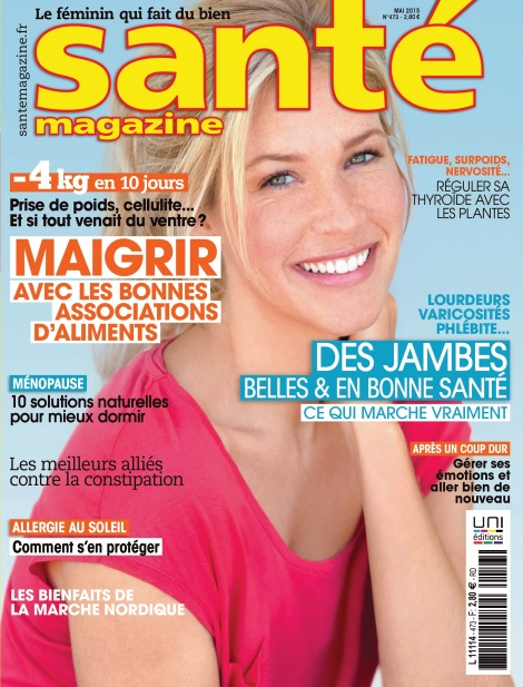 Santé magazine de mai 2015
